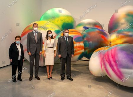 Editorial picture of Inauguration of New Contemporary Art Museum Helga de Alvear in Caceres, Spain - 25 Feb 2021