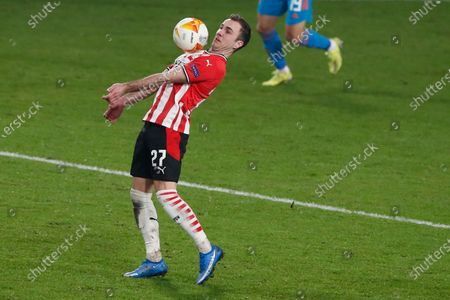 Editorial picture of Soccer Europa League, Eindhoven, Netherlands - 25 Feb 2021