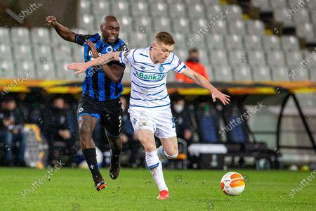Editorial image of Soccer El 1/16 Finals Club Brugge Vs Dynamo Kyiv, Brugge, Belgium - 25 Feb 2021