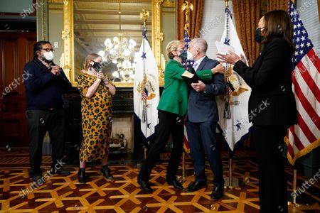 Editorial picture of Biden Cabinet Energy, Washington, United States - 25 Feb 2021