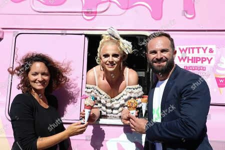 Florencia Aimo, Courtney Act and Albert Kruger