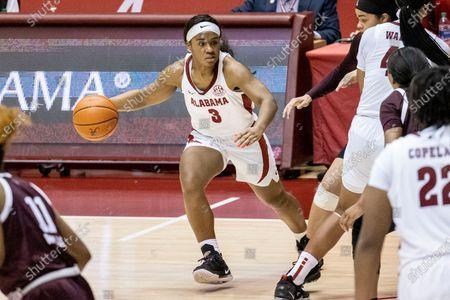 Editorial image of Texas A M Alabama Basketball, Tuscaloosa, United States - 25 Feb 2021