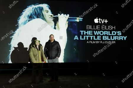 """Editorial photo of Apple's """"Billie Eilish: The World's A Little Blurry"""" Live Premiere, Los Angeles, CA, USA - 25 Feb 2021"""