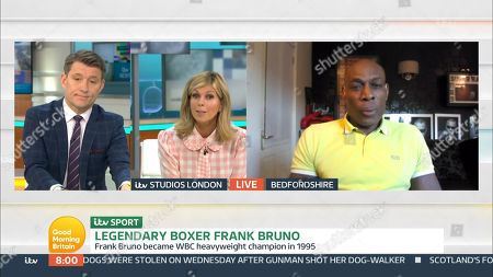 Editorial picture of 'Good Morning Britain' TV Show, London, UK - 26 Feb 2021