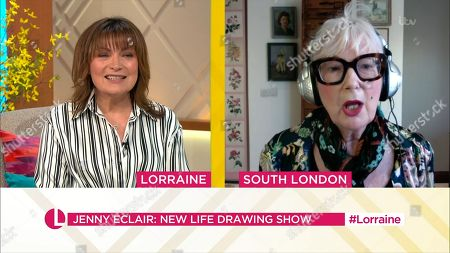 Editorial photo of 'Lorraine' TV Show, London, UK - 26 Feb 2021