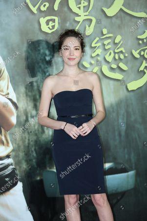 Stock Photo of Roy Chiu and Hsu Wei-ning