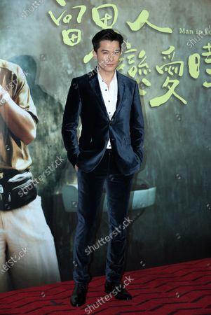 Stock Image of Roy Chiu and Hsu Wei-ning