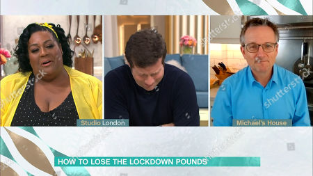 Stock Picture of Alison Hammond, Dermot O'Leary and Dr Michael Mosley