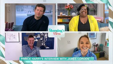 Stock Image of Dermot O'Leary, Alison Hammond, Matthew Wright and India Willoughby