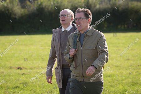 Jason Watkins as DS Dodds and Rob Brydon as Roy Gilbert.
