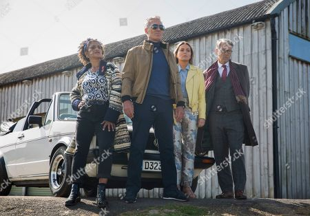 Editorial image of 'McDonald & Dodds' TV Show, Series 2, Episode 1, UK - 28 Feb 2021