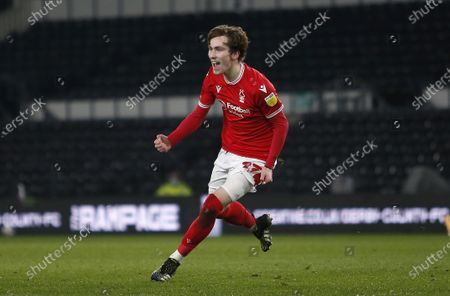 Editorial photo of Derby County v Nottingham Forest, EFL Sky Bet Championship, Football, Pride Park Stadium, Derby, UK - 26 Feb 2021