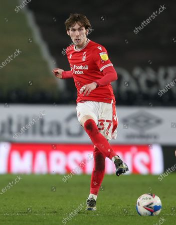 Stock Image of Nottingham Forest's James Garner