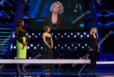 Battles: Team Will: Adenike and Victoria Heath perform., watched by Emma Willis