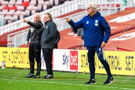 Editorial image of Middlesbrough v Cardiff City, EFL Sky Bet Championship, Football, The Riverside Stadium, Middlesbrough, UK - 27 Feb 2021