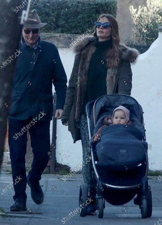 Exclusive - Millie Mackintosh and baby Sienna