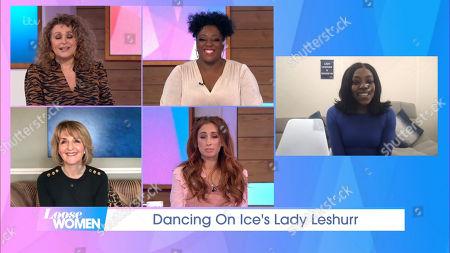 Editorial photo of 'Loose Women' TV Show, London, UK - 26 Feb 2021