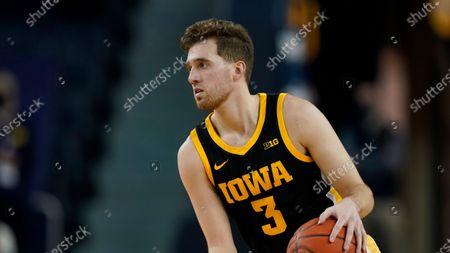 Editorial photo of Iowa Basketball, Ann Arbor, United States - 25 Feb 2021