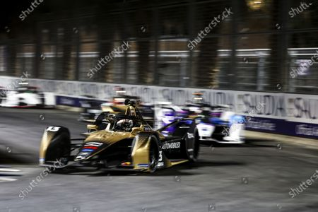 Antonio Felix da Costa (PRT) DS Techeetah, DS E-Tense FE20 during the 2021 Formula E Round 1 - Diriyah E-Prix in this Handout Photo from the FIA Formula E World Championship for editorial use only (no commercial use)
