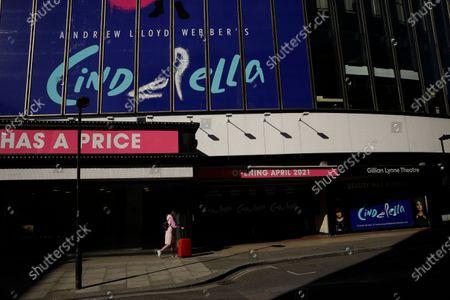 Editorial image of Virus Outbreak Theatres, London, United Kingdom - 26 Feb 2021