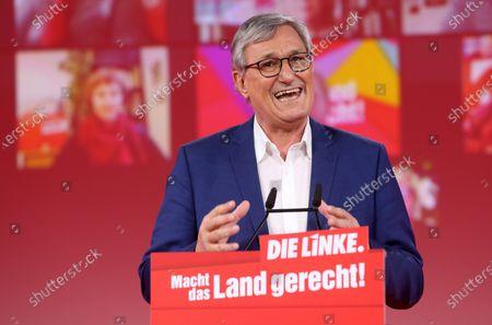 Editorial photo of Die Linke holds virtual Federal Congress, Berlin, Germany - 26 Feb 2021