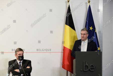 Editorial image of Politics Consultation Committee Pc, Brussels, Belgium - 26 Feb 2021