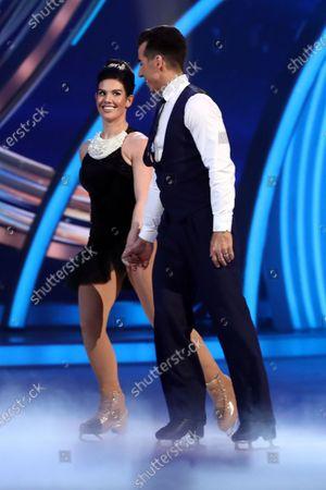 Rebekah Vardy and Andy Buchanan
