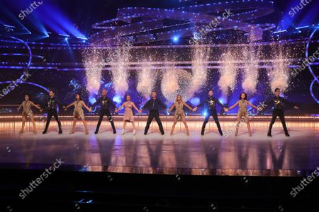 Editorial image of 'Dancing On Ice' TV show, Series 13, Episode 6, Hertfordshire, UK - 28 Feb 2021