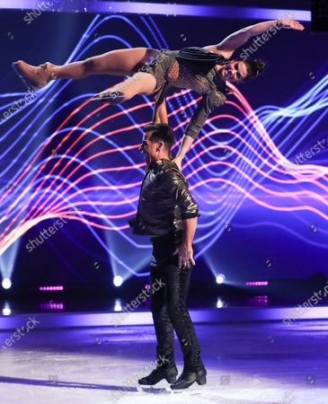 Editorial photo of 'Dancing On Ice' TV show, Series 13, Episode 6, Hertfordshire, UK - 28 Feb 2021