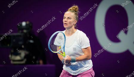 Editorial image of ATP Qatar Total Open 2021, Tennis, Khalifa International Tennis and Squash Complex, Doha, Qatar - 01 Mar 2021