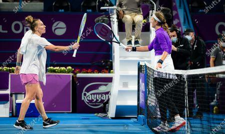 Editorial picture of ATP Qatar Total Open 2021, Tennis, Khalifa International Tennis and Squash Complex, Doha, Qatar - 01 Mar 2021