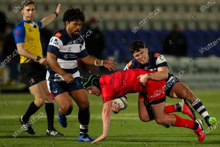 Editorial picture of Coventry Rugby v Saracens, UK - 26 Feb 2021