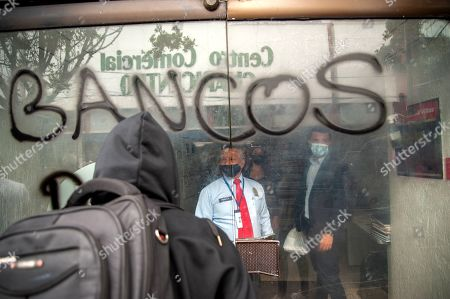 Editorial photo of Anti-Police Demonstrations in Bogota, Colombia - 24 Feb 2021