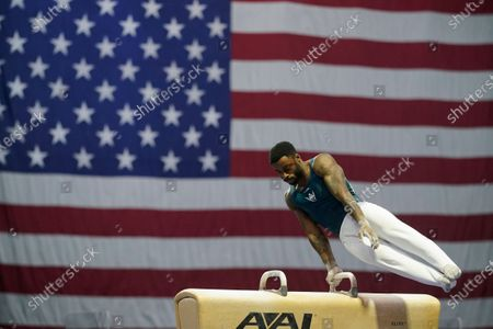 Editorial picture of Winter Cup Gymnastics, Indianapolis, United States - 26 Feb 2021