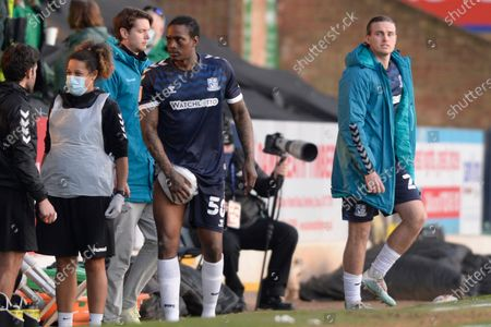 Nile Ranger of Southend United after the Sky Bet League Two match between Southend United and Salford City at Roots Hall in Southend - 27th February 2021