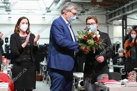 Editorial picture of German Die Linke Holds Virtual Federal Party Congress, Berlin, Germany - 27 Feb 2021