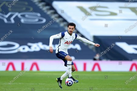 Dele Alli of Tottenham Hotspur; Tottenham Hotspur Stadium, London, England; English Premier League Football, Tottenham Hotspur versus Burnley.