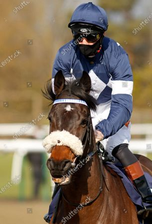Stock Picture of ENOUGH ALREADY (Dougie Costello) winner of The Read Katie Walsh On Betway Insider Handicap Lingfield