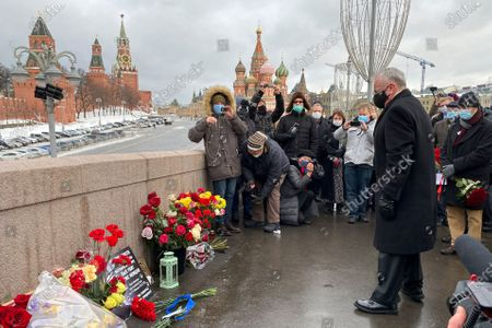 Editorial image of Russia Nemtsov, Moscow, Russian Federation - 27 Feb 2021