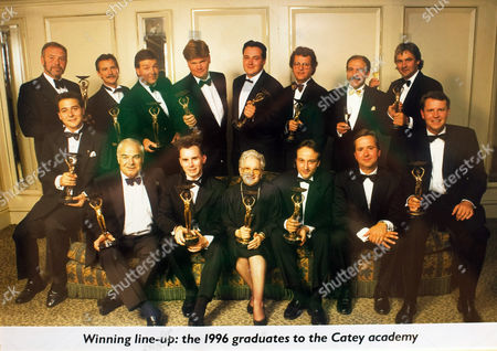 Elena Salvoni in 1996 when she won Manager of the Year at the Catey Academy Awards.