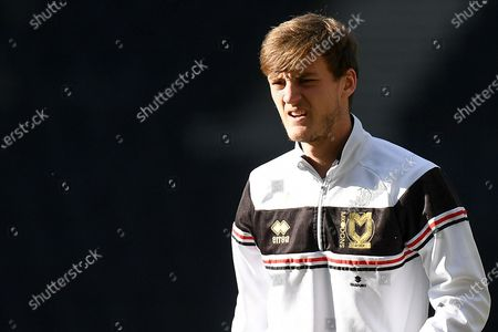 Stock Picture of Portrait of Milton Keynes Dons forward Charlie Brown (11) during the EFL Sky Bet League 1 match between Milton Keynes Dons and Oxford United at stadium:mk, Milton Keynes