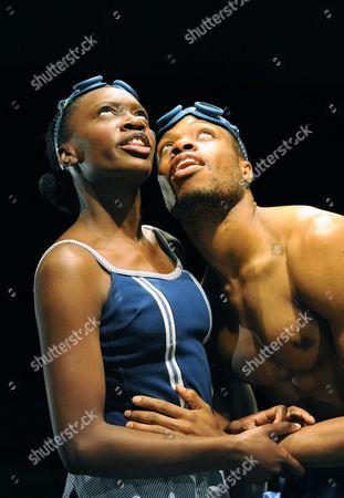 'Eurydice' - Ony Uhiara (Eurydice) and Osi Okerafor (Orpheus)