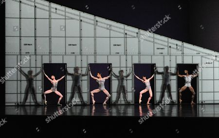 'Electric Counterpoint' - Leanne Benjamin, Sarah Lamb, Eric Underwood and Edward Watson