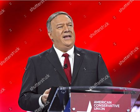 Editorial picture of Conservative political action conference, Orlando, Florida, USA - 27 Feb 2021