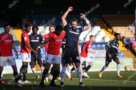 Editorial image of Southend United v Salford, UK - 27 Feb 2021