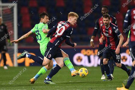Editorial picture of Soccer: Serie A 2020-2021 : Bologna 2-0 Lazio, Bologna, Italy - 27 Feb 2021