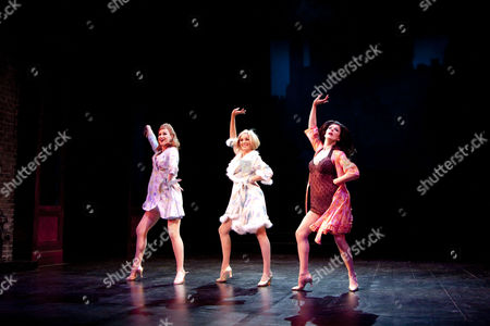 'Sweet Charity' -  Tiffany Graves (Helene), Tamzin Outhwaite (Charity Hope Valentine) and Josephina Gabrielle (Nickie)