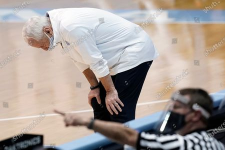 Editorial picture of Florida State North Carolina Basketball, Chapel Hill, United States - 27 Feb 2021