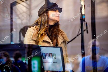 Editorial photo of Gavin Creel and Shoshana Bean perform for NY PopsUp, New York, USA - 27 Feb 2021