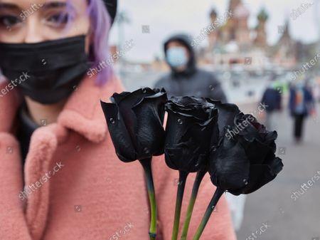 Editorial image of Memorial of Boris Nemtsov in Moscow, Russia - 28 Feb 2021